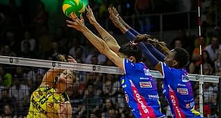 Igor Gorgonzola NOVARA: 3 - Imoco Volley CONEGLIANO: 1