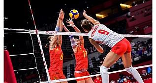 Çin - Türkiye: 3-0 (2020 Tokyo Olimpiyatları)