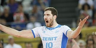 BR Volleys - Zenit Kazan: 0-3