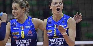 Dinamo Moskova - Imoco Volley Conegliano: 1-3