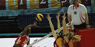 Galatasaray:3 - Nilüfer Bld.:1