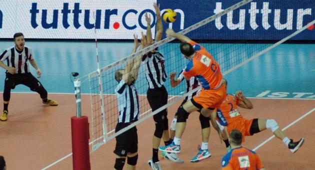 İstanbul BBSK:1 - Beşiktaş:3 (FOTO)