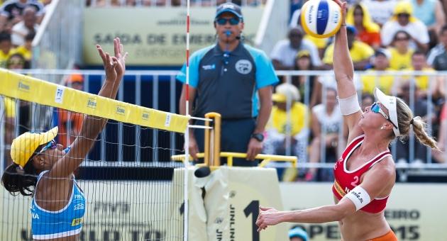 Dünyanın en iyi Plaj Voleybolcuları Antalya'ya geliyor