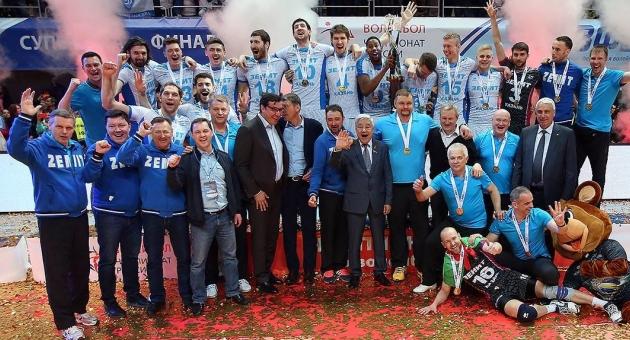 Zenit Kazan Set Vermeden Şampiyon