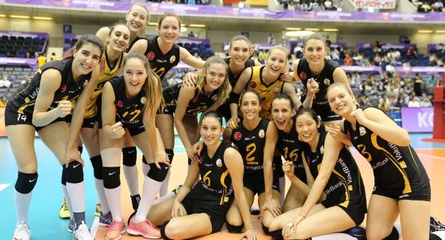 VakıfBank Dünya şampiyonluğu için finalde (VIDEO)