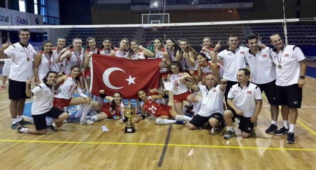 U19 Balkan Şampiyonu Türkiye