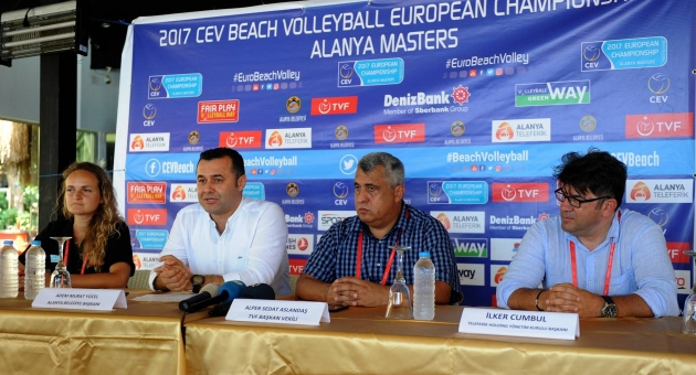 Plaj Voleybolu Avrupa Şampiyonası'nın Medya Toplantısı Gerçekleşti