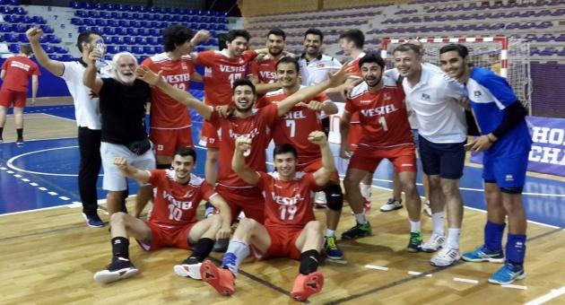 Genç Erkeklerimiz Balkan Şampiyonu Oldu
