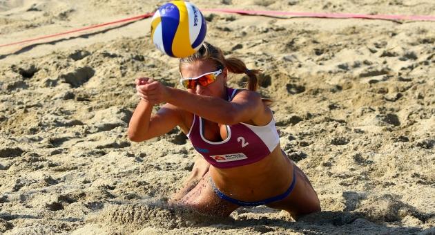 2017 CEV Bayanlar Plaj Voleybolu Avrupa Şampiyonası'nın İkinci Ayağı Alanya'da Başladı