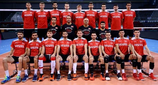 U23 Erkek Voleybol Milli Takımımız Mısır'a Hareket Edecek