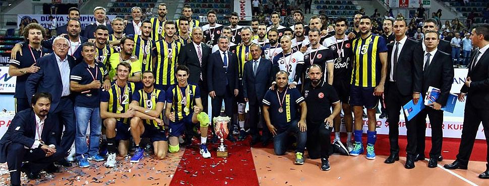 2017 Spor Toto Şampiyonlar Kupası Fenerbahçe'nin!..