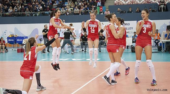 Avrupa Şampiyonası'nda Sultanlarımız Yarı Finalde!..