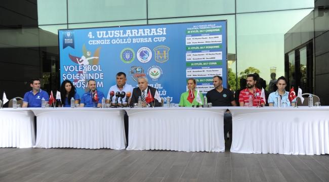 Bursa'da voleybol heyecanı başlıyor