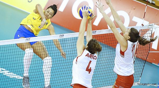 U23'ler, Dünya Şampiyonası'nda Brezilya'ya Mağlup Oldu