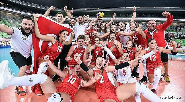 U23 Milli Voleybol Takımımız Dünya Şampiyonu!