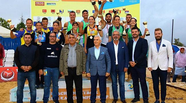 2017 Balkan Plaj Voleybolu Şampiyonası Sona Erdi