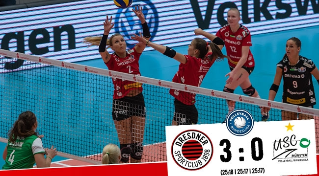 Almanya'da Dresdner, Münster'i 3-0 devirdi