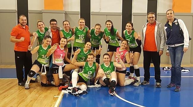 Bursaspor Yüksekoba'dan 4. galibiyet