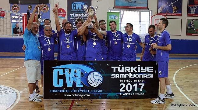 CVL'de Şampiyon Türk Telekom Ankara