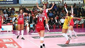 İtalya'da Scandicci ve Arsizio 3-0 kazandı