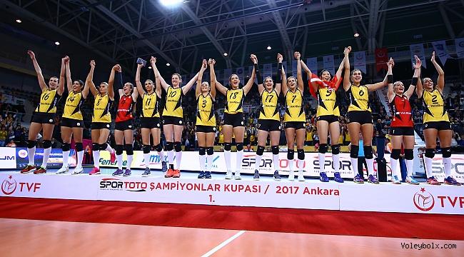 Şampiyonlar Kupası'nda gülen taraf Vakıfbank!