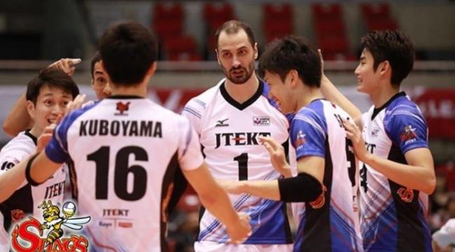 Japonya'da JTEKT Stings, JT ve Toray 3-0 kazandı...