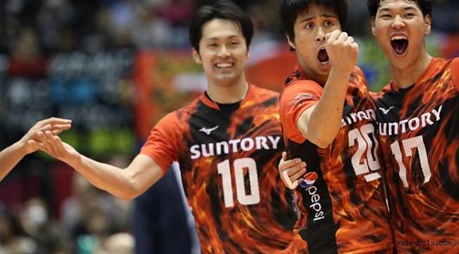 Japonya'da Toyoda Gosei, ilk yenilgisini Suntory'dan aldı