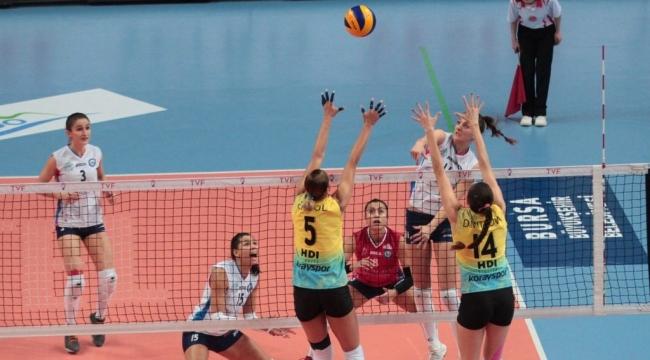 Nilüfer Belediyespor, Bursa derbisinde 3-2 kazandı...