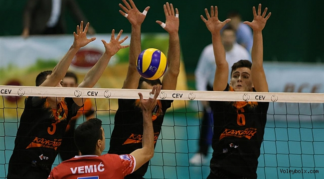 CEV ve Challenge Kupası'nda 18 karşılaşma oynandı...