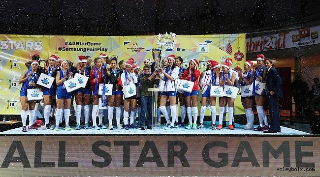 İtalya'da Samsung Galaxy All Star Game Maçı Oynandı (FOTO GALERİ)