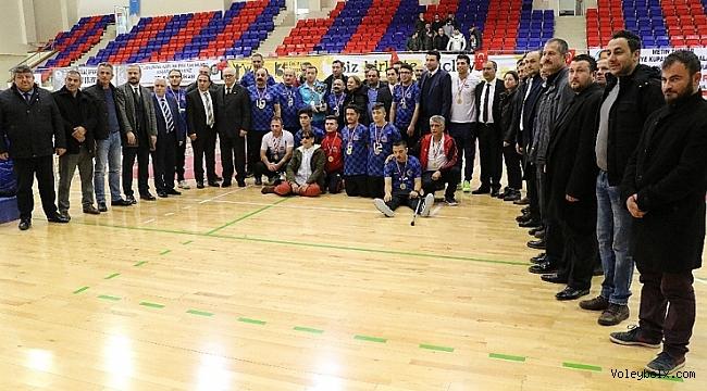 Oturarak Voleybol Türkiye Kupası'nda şampiyon Alaplı Alges