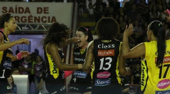 Brezilya Kupası'nda Praia Clube - Osasco finali!..