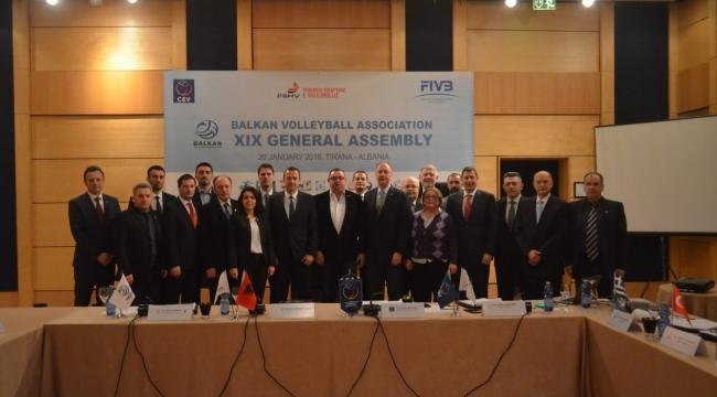 BVA 19. Genel Kurul Toplantısı, Arnavutluk Federasyonu'nun Ev sahipliğinde Tiran'da yapıldı