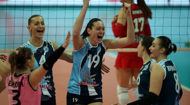 Dinamo Kazan ve Moskova kazanmaya devam ediyor..