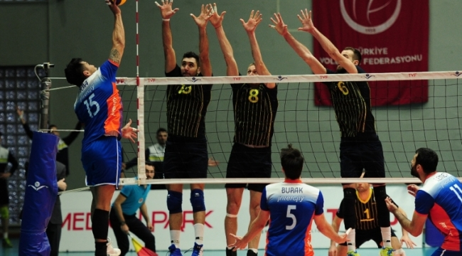 İstanbul BBSK, Fenerbahçe'den set alamadı