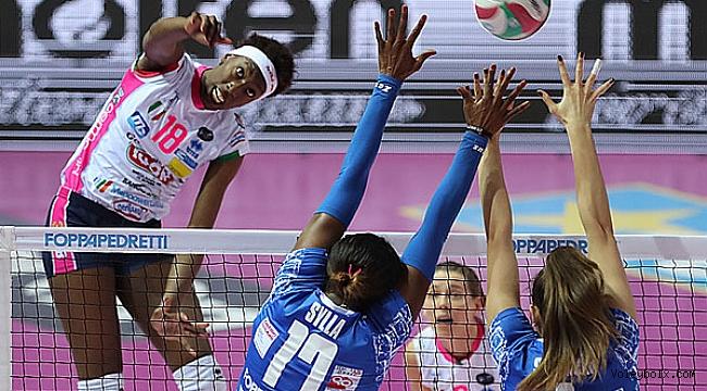 İtalya'da Conegliano ve Novara'dan şok puan kaybı