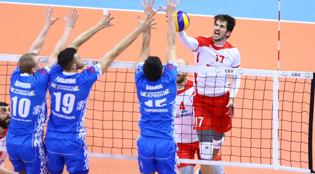 Maliye Milli Piyango, Stroitel Minsk'i 3-0'la Geçti