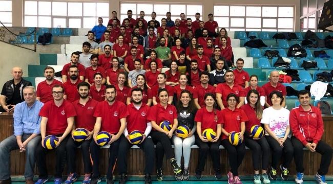 Antalya İli Birinci Kademe Yardımcı Antrenör Kursu Devam Ediyor