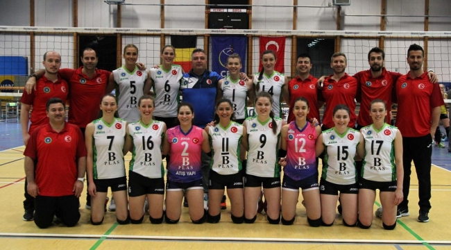 Bursa BBSK, Hermes Oostende'yi 3-0 Mağlup Etti