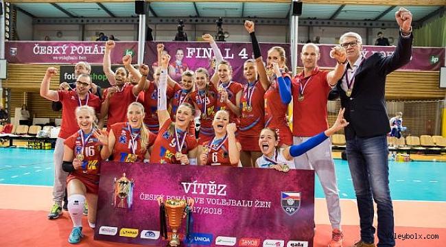 Çekya Kupası'nda şampiyon VK Agel Prostejov
