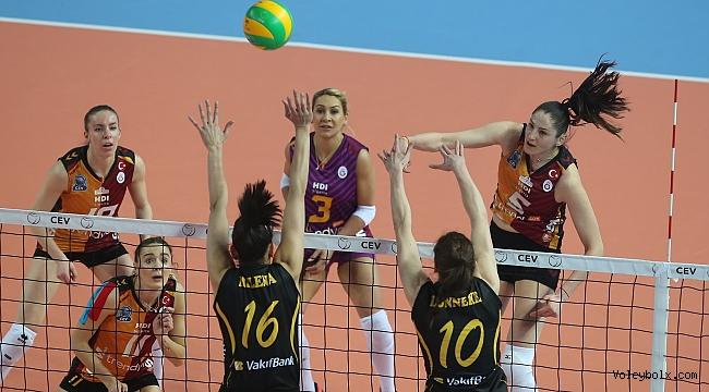 Galatasaray ve VakıfBank, CEV Şampiyonlar Ligi'nde 6'lı Play-off'larda !