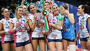 İtalya Kupası'nın sahibi Igor Gorgonzola Novara!.. (FOTO GALERİ)