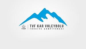 TVF Kar Voleybolu Türkiye Şampiyonası Başlıyor