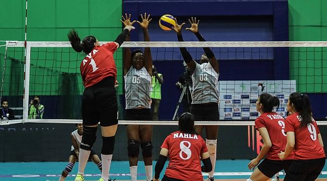 Afrika Kulüpler Şampiyonası'nda yarı finalistler belli oldu (VİDEO)