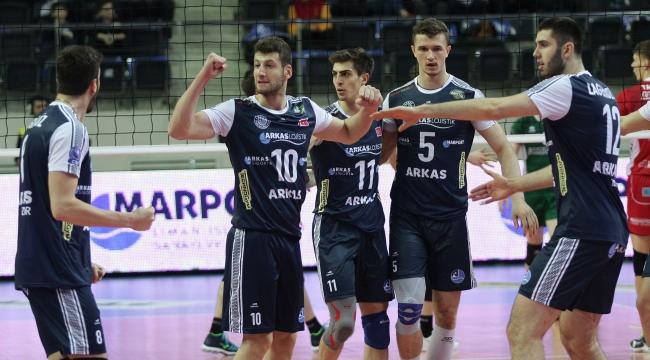Arkas Spor final için sahaya çıkıyor