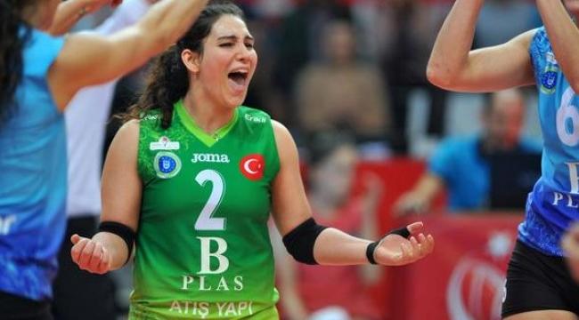 Aylin Sarıoğlu: Hedefimiz Bursa'ya 3. kez Avrupa Kupası getirmek