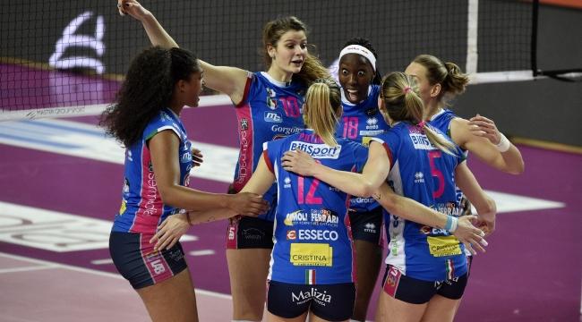 İtalya'da çeyrek final ilk maçları tamamlandı