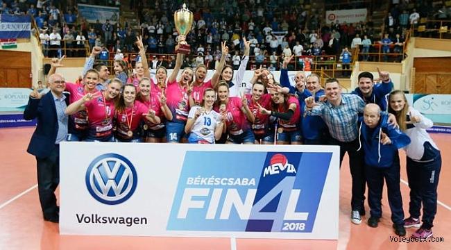 MEVZA Bayanlar Ligi'nde şampiyon Linamar Bekescsabai!..