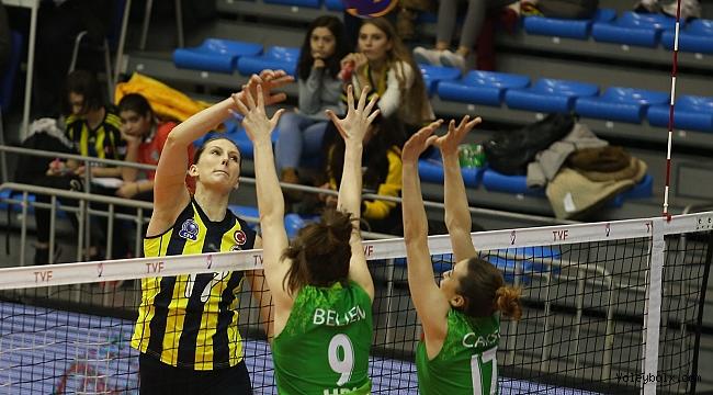 Sultanlar Ligi Play-off Çeyrek Final Etabı İkinci Karşılaşmaları Tamamlandı