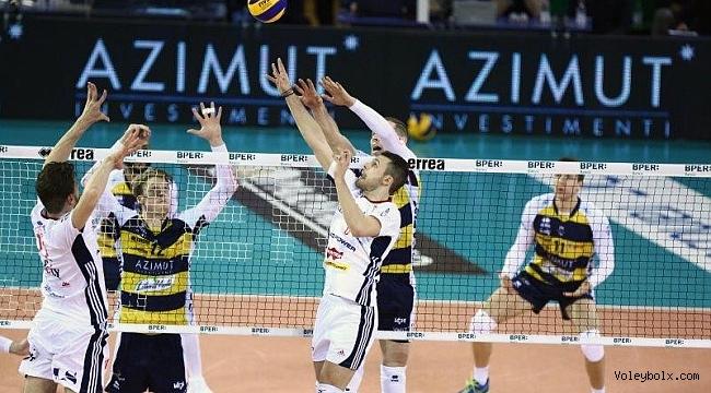 Trentino, Lube ve Modena ilk maçı kazandı